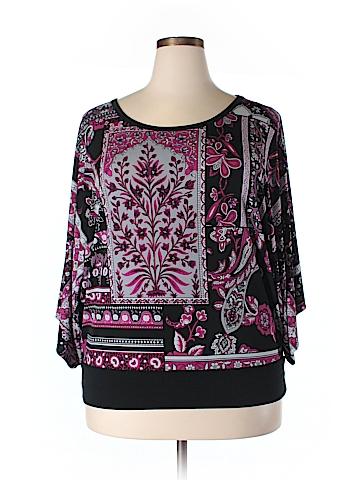 DressBarn Short Sleeve Top Size 18 - 20 (Plus)