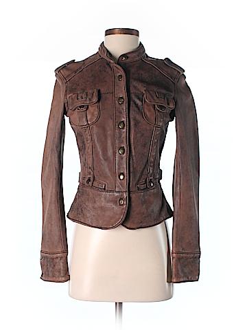 June Leather Jacket Size S