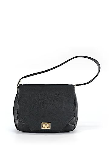 Ann Taylor Leather Shoulder Bag One Size
