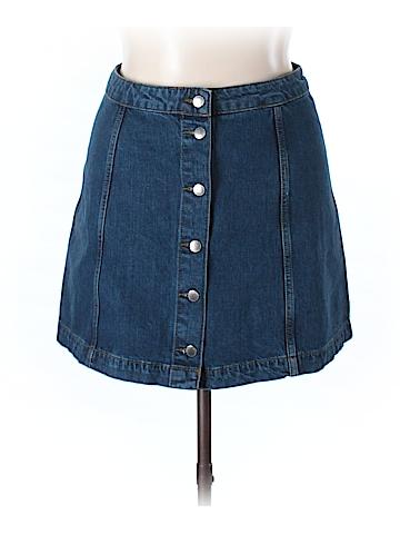 Topshop Denim Skirt 34 Waist