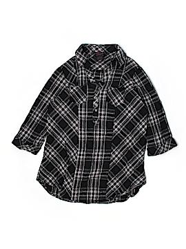 Torrid Short Sleeve Button-Down Shirt Size 1