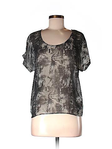 Nom De Plume by YaYa Women Short Sleeve Blouse Size S