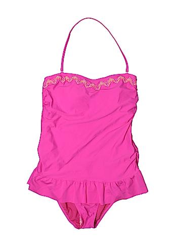Hula Honey One Piece Swimsuit Size XL
