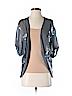 Young Fabulous & Broke  Women Short Sleeve Silk Top Size S