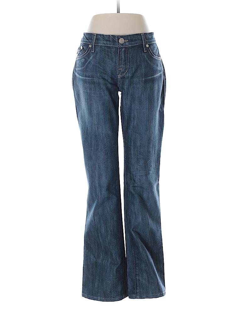 rock republic solid dark blue jeans 28 waist 76 off thredup. Black Bedroom Furniture Sets. Home Design Ideas