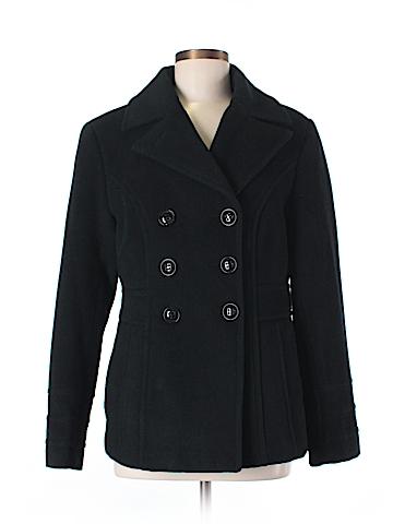 St. John's Bay Wool Coat Size M