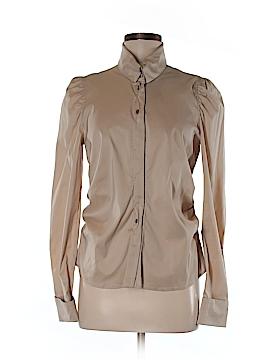 Rene Lezard Long Sleeve Button-Down Shirt Size 38 (FR)