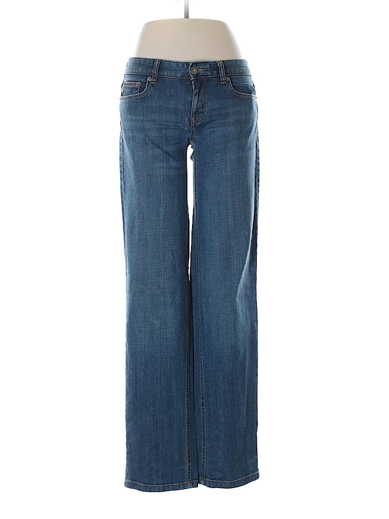 Lands' End Canvas Women Jeans 27 Waist