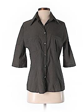 GF Ferre Short Sleeve Button-Down Shirt Size S