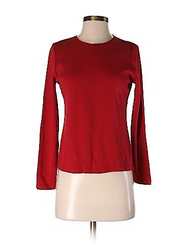 Charter Club Long Sleeve T-Shirt Size S (Petite)