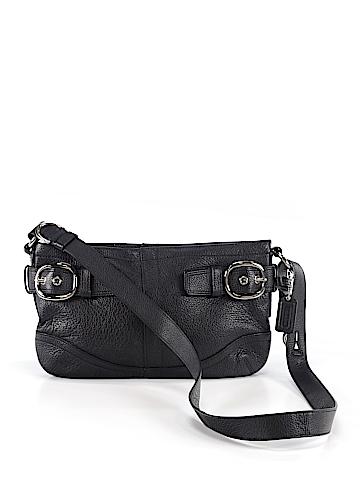 Coaco New York Leather Crossbody Bag One Size