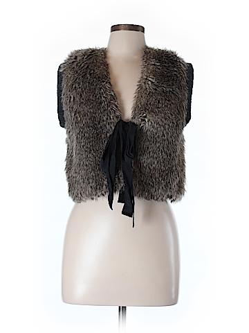 Juicy Couture Faux Fur Vest Size M