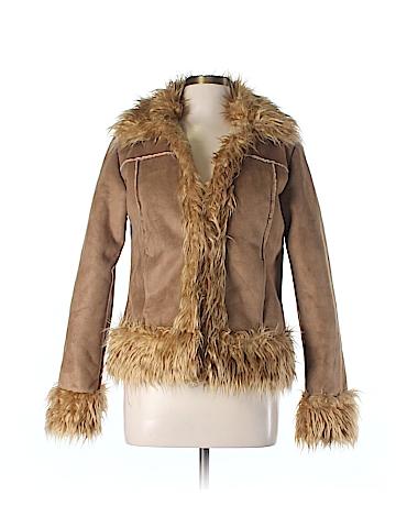 Freeway Faux Fur Jacket Size M