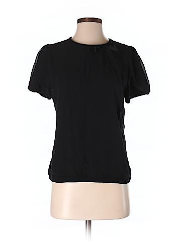 Ann Taylor Short Sleeve Silk Top Size S (Petite)