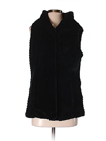 Dennis by Dennis Basso Women Faux Fur Vest Size S