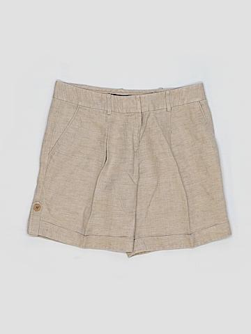 Lafayette 148 New York Khaki Shorts Size 4
