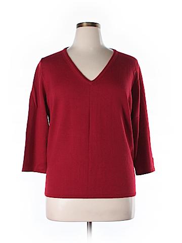 Karen Kane Wool Pullover Sweater Size 2X (Plus)