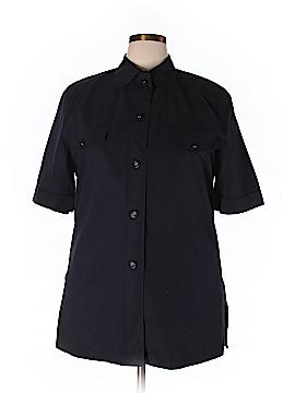 Basler Short Sleeve Button-Down Shirt Size 44 (EU)