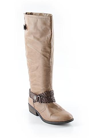 Pink & Pepper Rain Boots Size 8