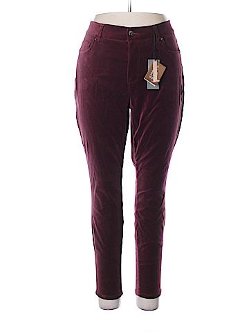 Melissa McCarthy Seven7 Velour Pants Size 16 W (Plus)