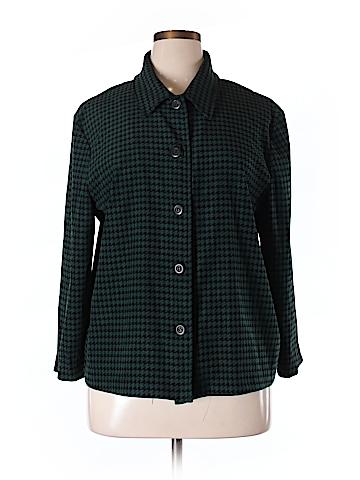 Briggs New York Long Sleeve Blouse Size XL
