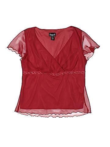 B.i.y.a.y.c.d.a. Short Sleeve Top Size XL