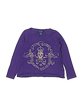 Ralph Lauren Long Sleeve T-Shirt Size 7
