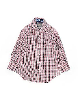 Thomas Dean Long Sleeve Button-Down Shirt Size 4