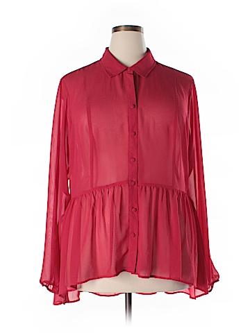 Torrid Long Sleeve Blouse Size 2X (Plus)