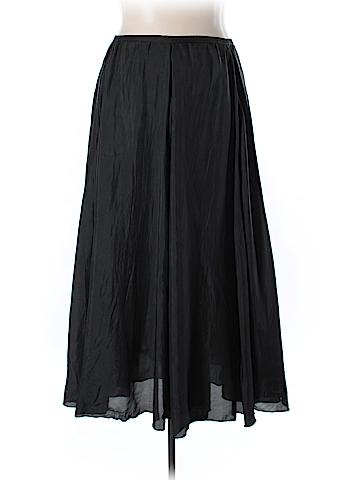 Soft Surroundings Silk Skirt Size XL (Tall)
