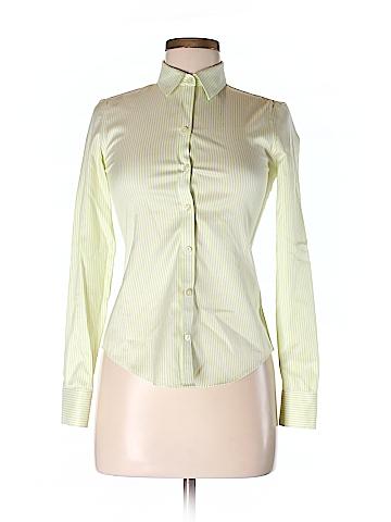 Banana Republic Women Long Sleeve Button-Down Shirt Size 00 (Petite)