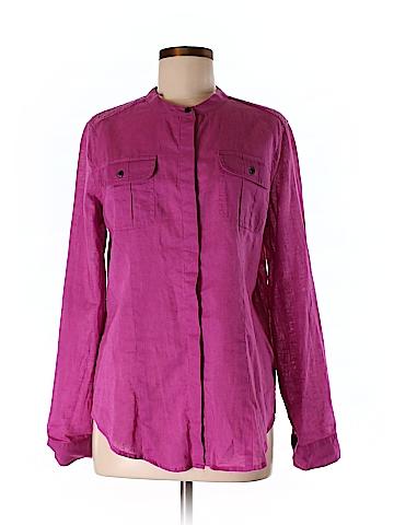 Calvin Klein Long Sleeve Button-Down Shirt Size M