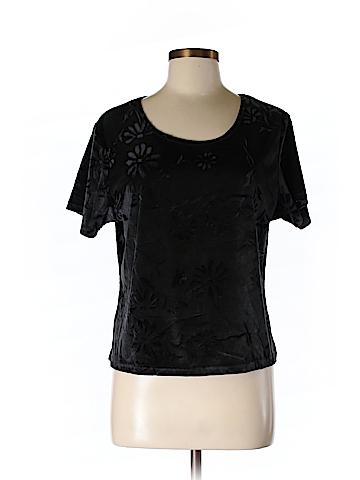 MK Klein Short Sleeve Blouse Size L