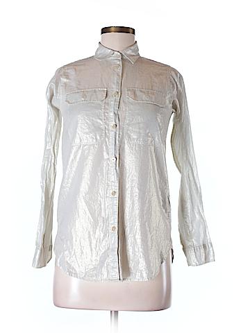 J. Crew Women Long Sleeve Button-Down Shirt Size 000