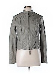 Max Studio Faux Leather Jacket Size L