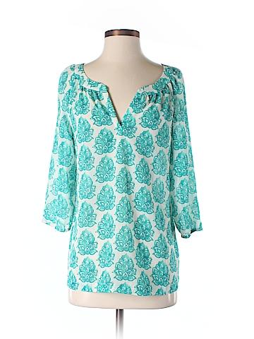 Merona 3/4 Sleeve Blouse Size M