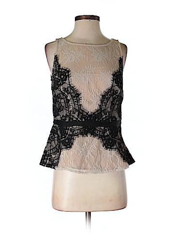 Ann Taylor LOFT Sleeveless Blouse Size 4 (Petite)