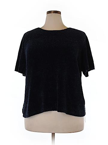 Denim & Co Pullover Sweater Size 2X (Plus)