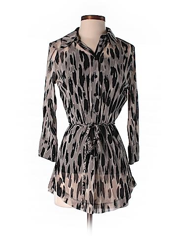 INC International Concepts 3/4 Sleeve Blouse Size S (Petite)