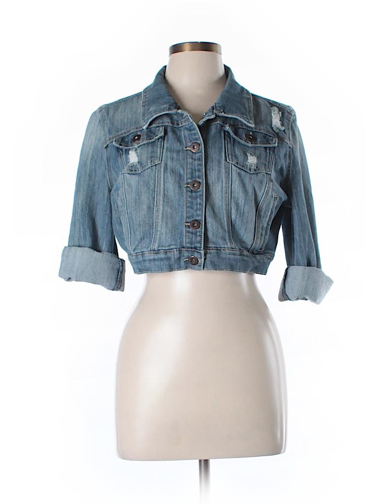 Dollhouse Women Denim Jacket Size L