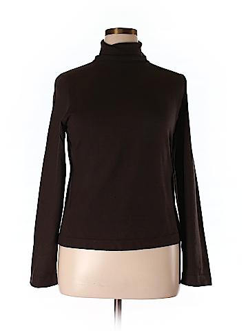 Elliott Lauren Silk Pullover Sweater Size XL