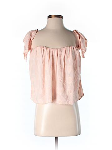 O'Neill Short Sleeve Blouse Size S