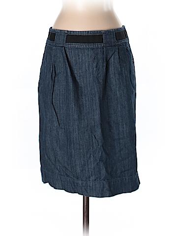 New York & Company Women Denim Skirt Size 2