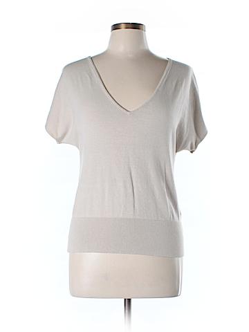 New York & Company Silk Pullover Sweater Size L