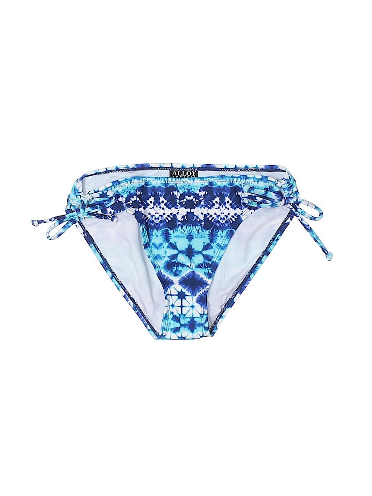 Alloy Women Swimsuit Bottoms Size L