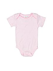 Absorba Girls Short Sleeve Onesie Size 3-6 mo