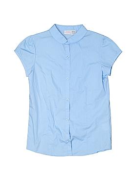 IZOD Short Sleeve Button-Down Shirt Size 18