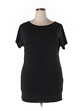 Marina Rinaldi Short Sleeve Top Size 16 (L)