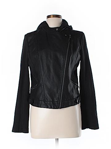 Aeropostale Faux Leather Jacket Size L