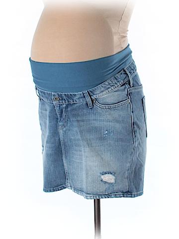 H&M Mama Denim Skirt Size 10 (Maternity)